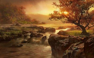 river-flows