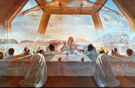 سلفادور دالي- لوحة سِرّ العشاء الأخير