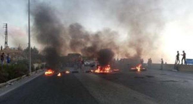قطع-شوارع-في-لبنان